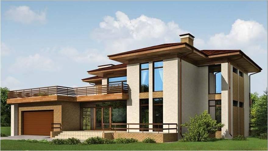 дома с высокими окнами проекты ним